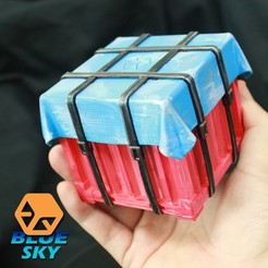 Descargar Modelos 3D para imprimir gratis Gota de ave, BlueSky