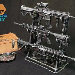 Descargar Modelos 3D para imprimir gratis Estante de Pistolas, BlueSky