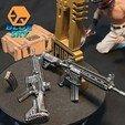 Descargar diseños 3D gratis PUBG M416 (HK416), BlueSky