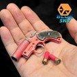 Descargar modelos 3D gratis Pistola de bengalas PUBG, BlueSky