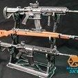 Descargar Modelos 3D para imprimir gratis Kar98k, BlueSky