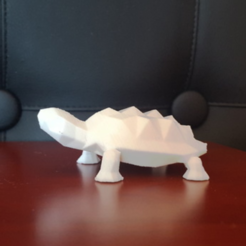Free 3D printer designs Low Poly Tortoise, mattias_selin