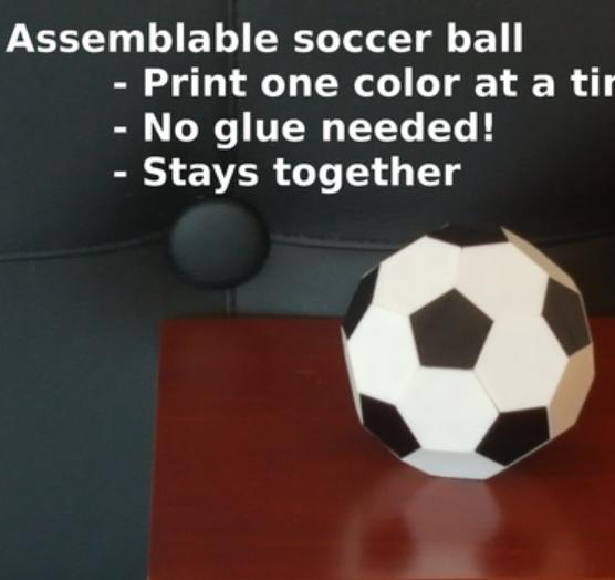 Capture d'écran 2018-07-26 à 14.34.46.png Download free STL file Soccer ball (Truncated icosahedron) assembly • 3D printer object, mattias_selin