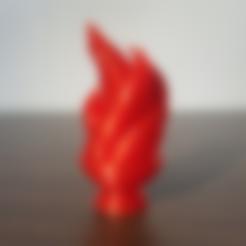 Télécharger fichier 3D gratuit Flamme, mattias_selin