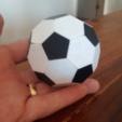 Capture d'écran 2018-07-26 à 14.35.23.png Download free STL file Soccer ball (Truncated icosahedron) assembly • 3D printer object, mattias_selin