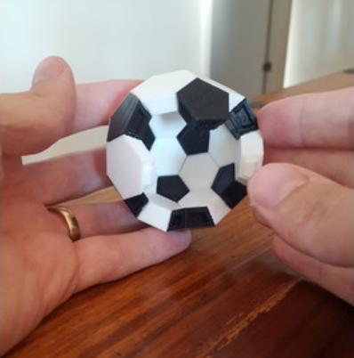 Capture d'écran 2018-07-26 à 14.35.16.png Download free STL file Soccer ball (Truncated icosahedron) assembly • 3D printer object, mattias_selin
