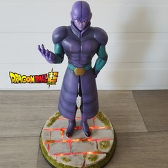 Télécharger fichier STL Hit Dragon ball super • Plan imprimable en 3D, Sekainoart3d