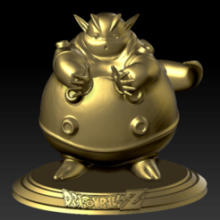 Descargar archivos STL Janemba Dragon Ball Z, Sekainoart3d