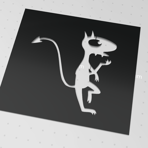 Capture.PNG Download free STL file luci stencil disenchantment 1 • 3D printer model, idy26