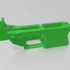 Download STL file AR-15 U-Bolt Reinforced Lower • 3D printing design, idy26