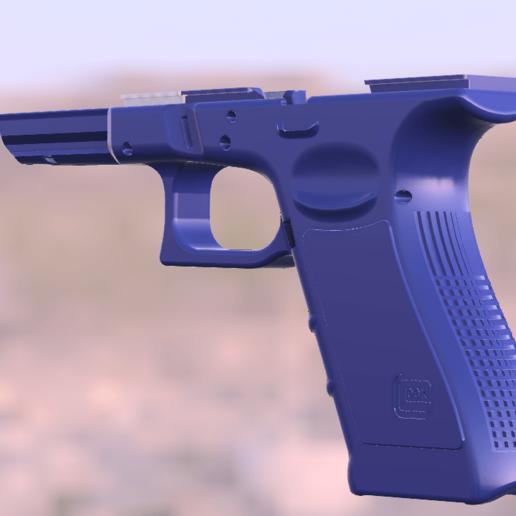 1-G17_4.png Télécharger fichier STL gratuit Glock 17 g17 • Design à imprimer en 3D, idy26