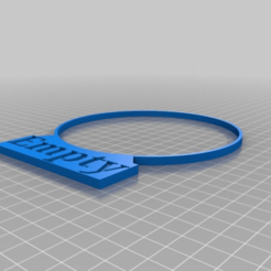 Download free 3D printing templates Gas tank ring Empty/full, idy26