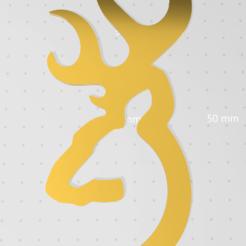 Capture.PNG Télécharger fichier STL gratuit logo du cerf • Plan imprimable en 3D, idy26