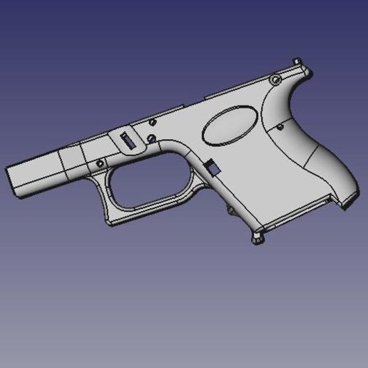 render2.jpeg Télécharger fichier STL gratuit Glock 26 g26 • Design à imprimer en 3D, idy26