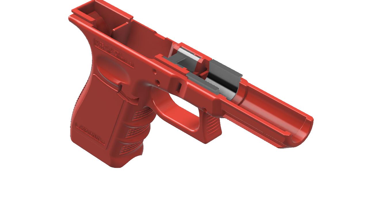 1-G17_2.png Télécharger fichier STL gratuit Glock 17 g17 • Design à imprimer en 3D, idy26