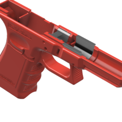 1-G17_2.png Download free STL file Glock 17 g17 • 3D printer template, idy26