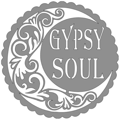 Free STL Gypsy soul stencil , idy26