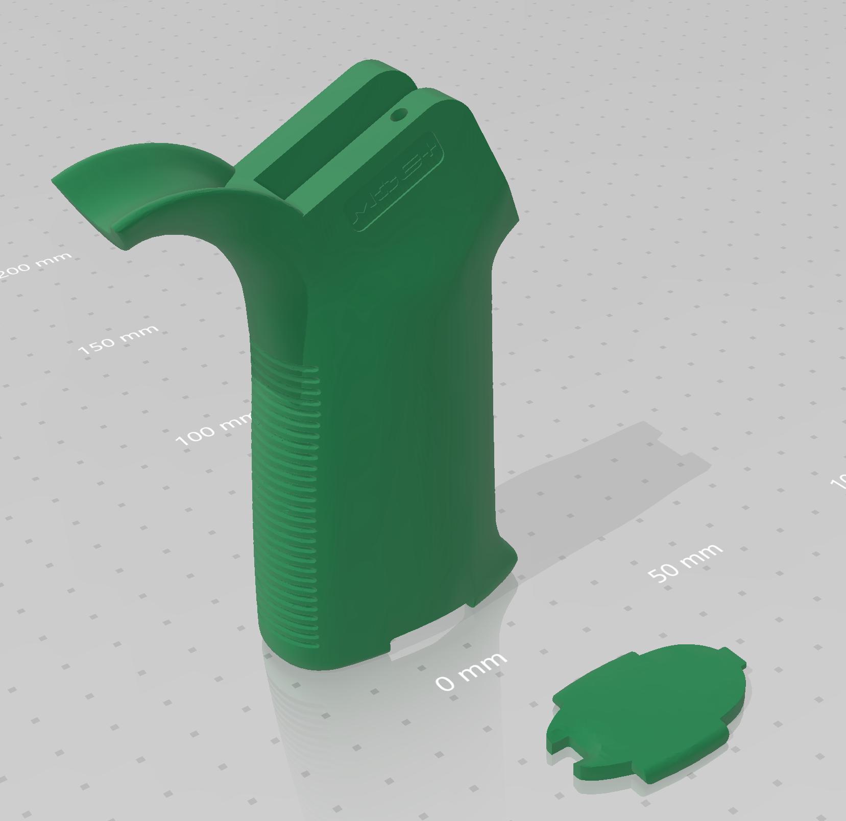 Capture.PNG Télécharger fichier STL gratuit Poignée de plate-forme AR • Design imprimable en 3D, idy26