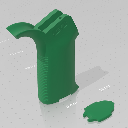 Download free 3D printer model AR platform grip, idy26