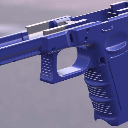 1-G17_3.png Télécharger fichier STL gratuit Glock 17 g17 • Design à imprimer en 3D, idy26