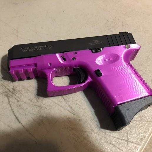 left.jpg Télécharger fichier STL gratuit Glock 26 g26 • Design à imprimer en 3D, idy26