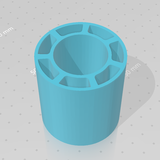 Download free 3D printing models Spool insert for hatchbox, idy26
