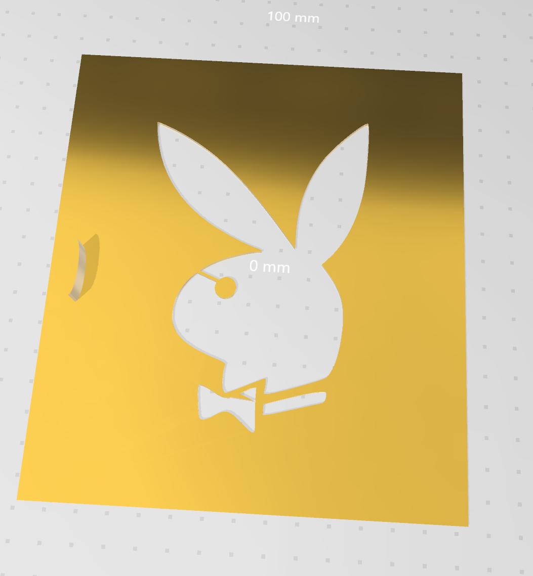 34.PNG Télécharger fichier STL gratuit pochoir playboy • Design pour impression 3D, idy26