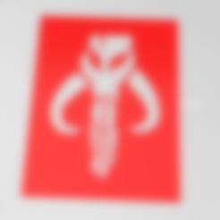 mandalorian symbol.stl Download free STL file Mandalorian Mythosaur symbol stencil  • 3D printing model, idy26