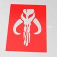 Capture.PNG Download free STL file Mandalorian Mythosaur symbol stencil  • 3D printing model, idy26
