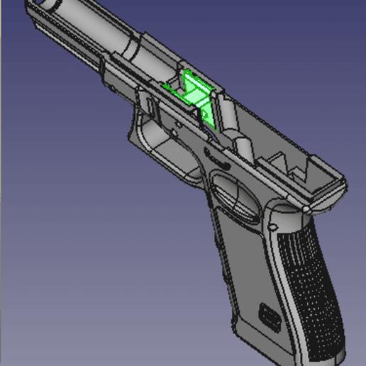 locking_block.png Télécharger fichier STL gratuit Glock 17 g17 • Design à imprimer en 3D, idy26