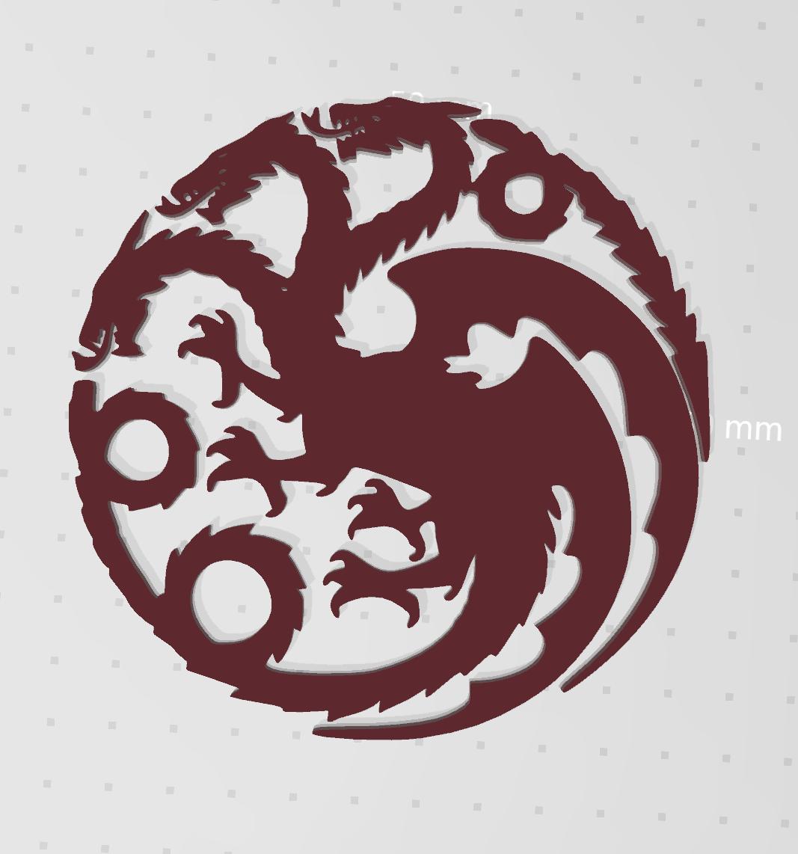Capture.PNG Télécharger fichier STL gratuit Jeu du Dragon du Trône (mère des dragons) • Plan à imprimer en 3D, idy26