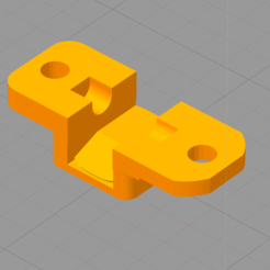Download free 3D printing models gluty-mag release pivot retainer 2 screws (AP9), idy26