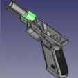front_rail.png Télécharger fichier STL gratuit Glock 17 g17 • Design à imprimer en 3D, idy26