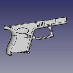 Download free STL file Glock 26 g26 • 3D printer template, idy26