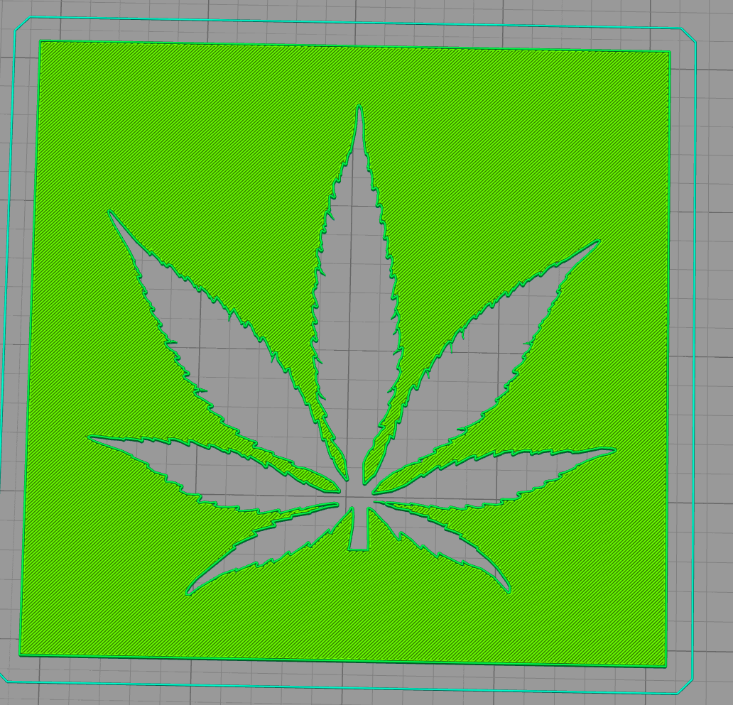 Capture.PNG Download free STL file Weed stencil • 3D print object, idy26