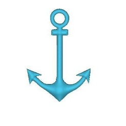 Download free 3D printer designs Boat anchor, robinwood87cnc