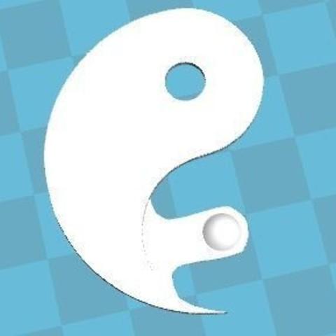Capture.JPG Download free STL file Yin and yang • 3D printer design, robinwood87cnc