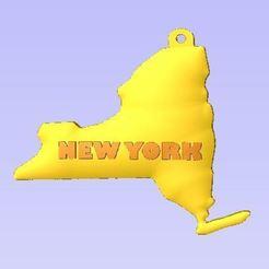Télécharger fichier impression 3D gratuit New York, robinwood87cnc