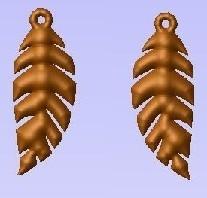 boucles d'oreilles.jpg Download STL file Earrings • 3D printing design, robinwood87cnc