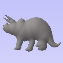 Free 3D model Triceratops, robinwood87000