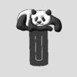 Download free 3D printing models Panda, robinwood87cnc