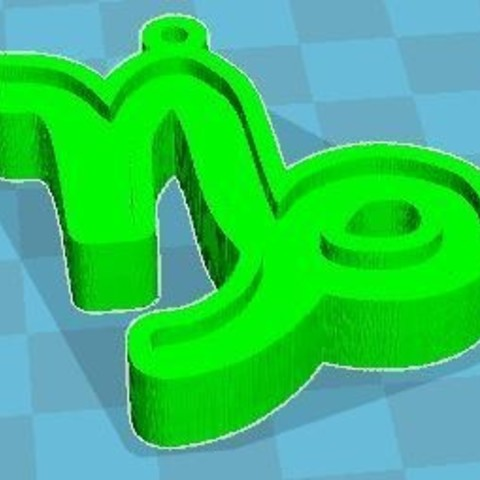 support.JPG Download free STL file Capricorn zodiac sign • 3D print model, robinwood87cnc