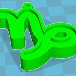 support.JPG Download free STL file Capricorn zodiac sign • 3D print model, robinwood87cnc