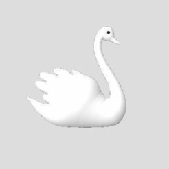 Download free STL files Swan, robinwood87cnc