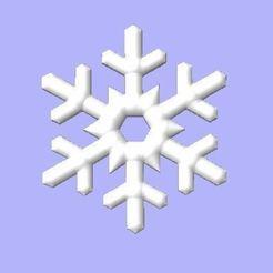 Télécharger fichier 3D gratuit Flocon de neige, robinwood87cnc