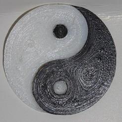 Free 3D printer model Yin and yang, robinwood87000