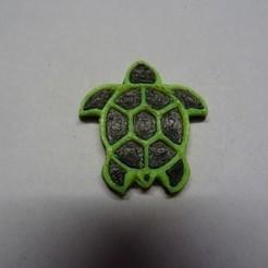 Télécharger fichier imprimante 3D gratuit tortue tribal, robinwood87cnc