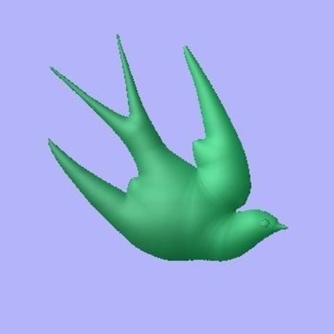 Free STL bird, robinwood87cnc
