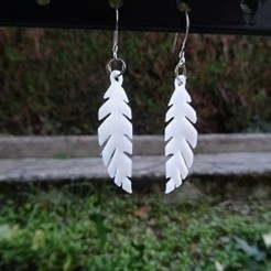 boucles.jpg Download STL file Earrings • 3D printing design, robinwood87cnc
