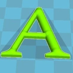A.JPG Download free STL file Alphabet • 3D printer model, robinwood87cnc